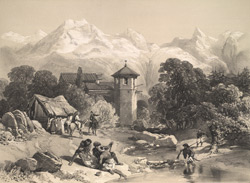 Kashmir: Fort of Chupayan.